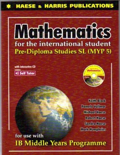 Mathematics for International Student Pre Diploma Studies MYP5