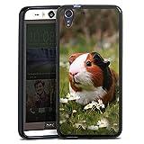 Silikon Hülle kompatibel mit HTC Desire Eye Case schwarz
