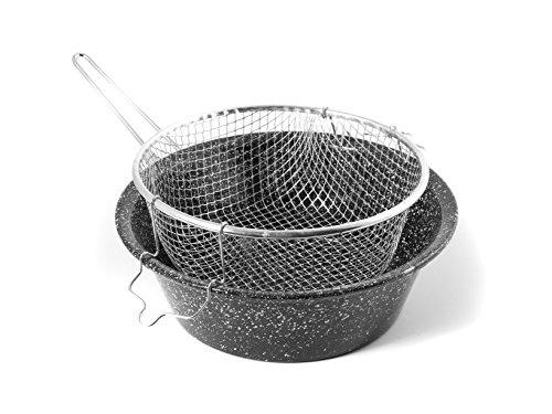 CERIANI Friggitrice Ferro/Porcellana con cestello 28sct