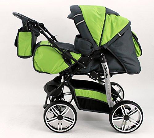 Kombi Kinderwagen Travel System Pascal 2in1 Kinderwagen Buggy Stroller Poussette (30)