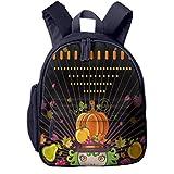 Kinderrucksack Cartoon Mädchen Obst Hut Herbst Babyrucksack Süßer Schultasche für Kinder 2-6 Jahre