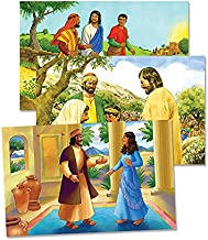 Vacation Bible School (VBS) 2014 Workshop of Wonders Bible Story Poster Set: Imagine & Build with God