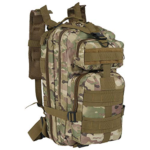 Large Tactical Backpack, 30L Camping Backpack Molle Backpack Outdoor Sport...