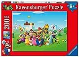 Puzzle 200 Piezas XXL, Super Mario, Puzzle 200 Piezas XXL, Puzzles para Niños, Edad Recomendada 8+, Rompecabeza de Calidad