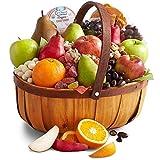 Golden State Fruit Organic Harvest Fruit, Sweets & Snacks Gift Basket