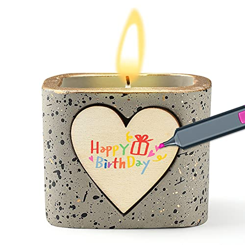 Candele profumate, Regali Personalizzati DIY, Candela di Soia Naturale Fatta a Mano Vaniglia Lavanda per La Mamma Compleanno San Valentino Anniversaori La Decorazione di La Festa