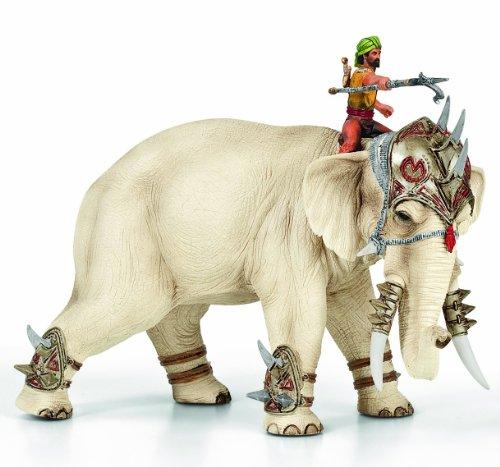 SCHLEICH 70063 - Der mächtige Kampfelefant mit Reiter
