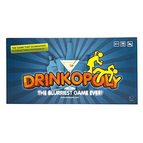 Drinkopoly - The blurriest game ever - in ENGLISH language
