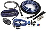 NVX Professional Grade 100% Copper, 2-Channel True Spec 1/0 Gauge Amplifier Installation Kit w/RCA Interconnect 20 ft Speaker Cable [XKIT02]