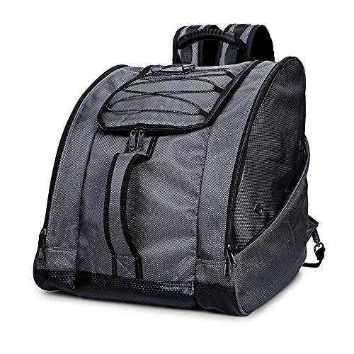 JIUYUE Ski Bag Boot Bag Ski Boots And Snowboard Boots Bag Excellent For Travel With Waterproof Exterior & Bottom For Men Women And Youth
