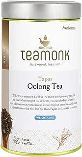Teamonk Tapas Oolong Tea Loose Leaf (75 Cups) | Premium Oolong Tea | Weight Loss Tea | Slimming Tea | Pure Loose Leaf Tea | No Additives - 5.2oz