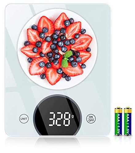 Bilancia da Cucina, Cocoda Bilancia Cucina Digitale da 10kg, con Precisione di 1g/0,05oz e...
