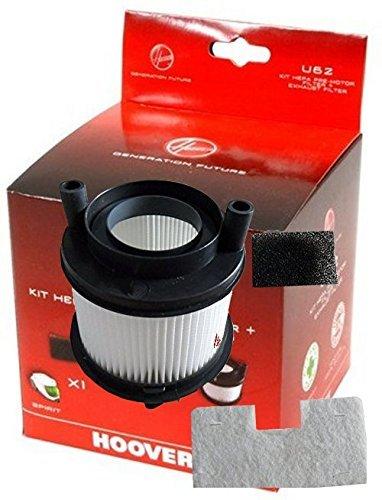 U62 Kit de filtres HEPa pour aspirateur