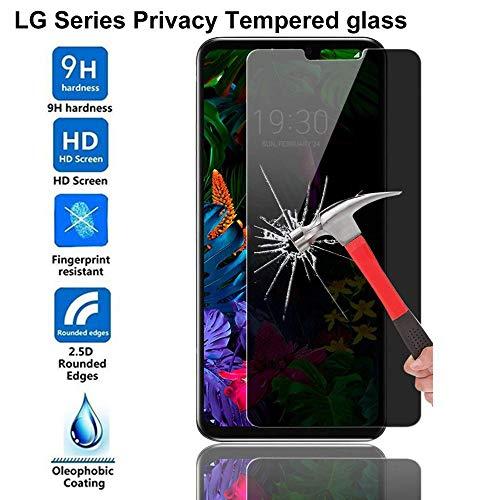 Zhouzl Mobile Phone Tempered Glass Film 100 PCS 0.26mm 9H 2.5D Tempered Glass Film for LG Q7 Tempered Glass Film