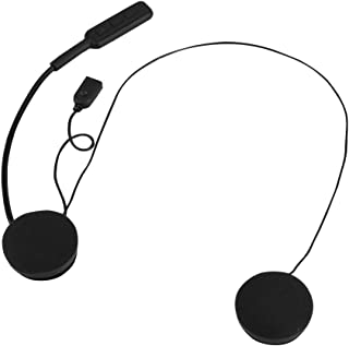 VBESTLIFE Wireless Bluetooth Headset, 8 Stunden Spielzeit Helm Kopfhörer Lautsprecher Musik Sport Kopfhörer für ios und Android