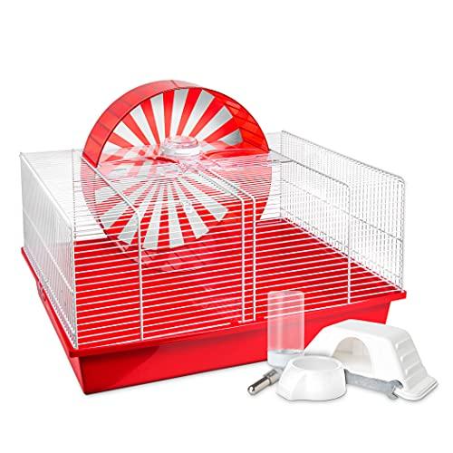 Living World Hamsterval Interactive Hamster Habitat, Small Animal Cage