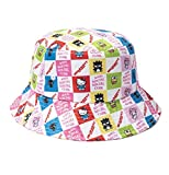 AntiSocialSocialClub (アンチソーシャルソーシャルクラブ) ハローキティ バケットハット ハット Hello Kitty and Friends x ASSC Bucket Cap White/Multi