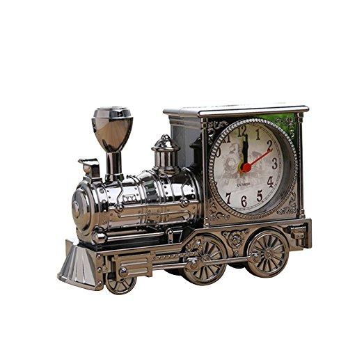 Da.Wa Kunststoff Wecker Retro Lokomotive Analog Uhr Nostalgische Sammlung Creative Geschenke Andenken