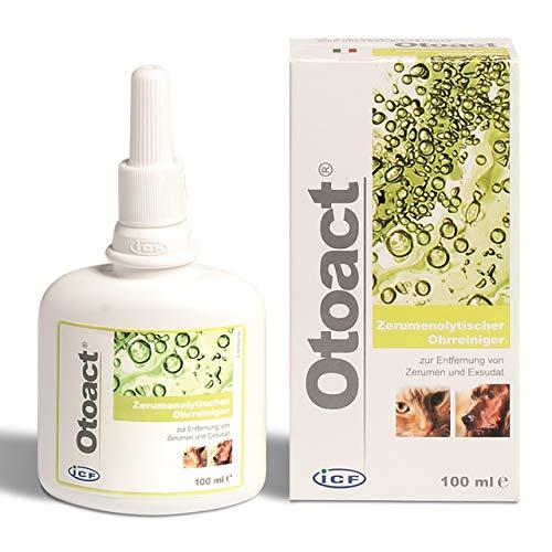 Otoact, detergente auricolare ceruminolitico per cani e gatti, 100ml