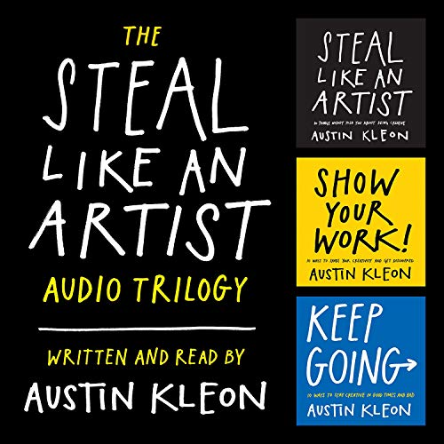 『The Steal Like an Artist Audio Trilogy』のカバーアート