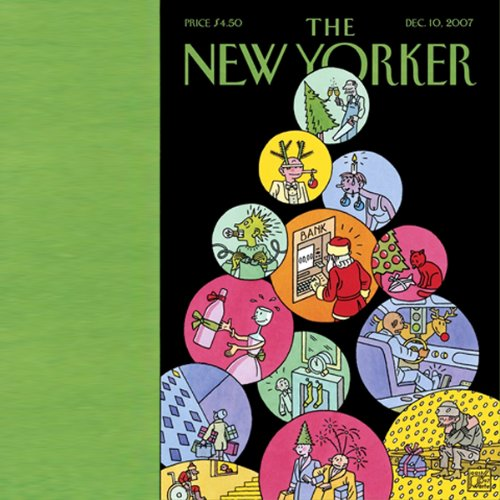 The New Yorker (December 10, 2007) audiobook cover art