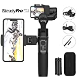 Hohem iSteady Pro 2 3-Axis Handheld Gimbal pour GoPro, caméra d'action DJI OSMO, cardan GoPro avec Support Smart, mât d'extension, Compatible avec Le GoPro Hero 7, SJCAM, YI, Sony ect (Black)