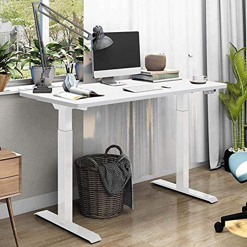 SANODESK Escritorio de altura regulable con armazón de mesa eléctrico de altura...