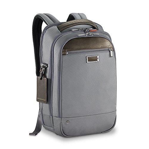 Briggs & Riley Work Medium Backpack Briefcase, 44 cm, 17.2 L, Grey, KP422-10