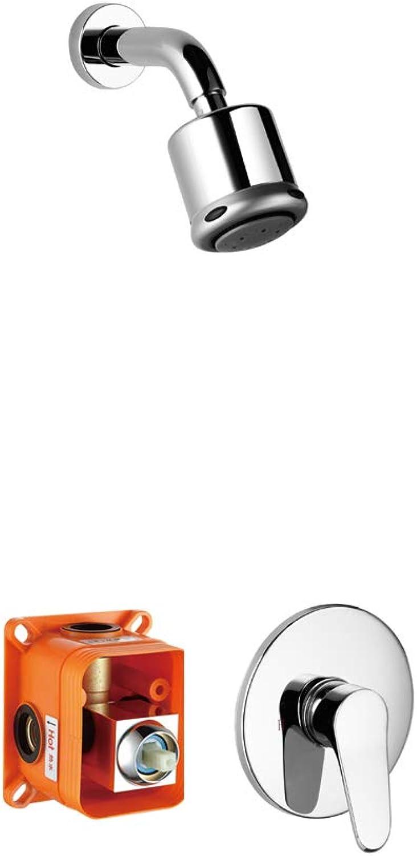 Minc Shower Systems, Stainless Steel & Brass, Chrom Badezimmer Dusche Set, Duschsysteme