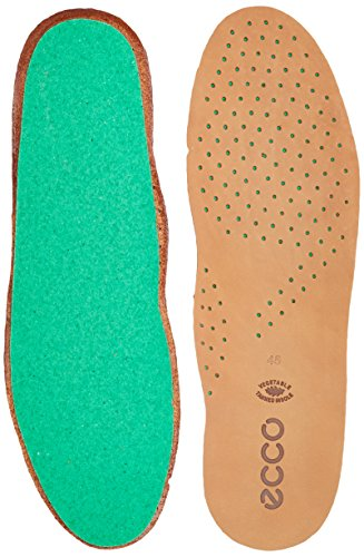 ECCO Mens CFS Leather Insole Einlegesohlen, Braun (Lion) 42 EU