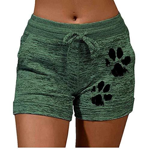 N\P Verano de las señoras Casual con cordón Cortos de encaje de cintura alta elástico pantalones cortos de las mujeres ocasion