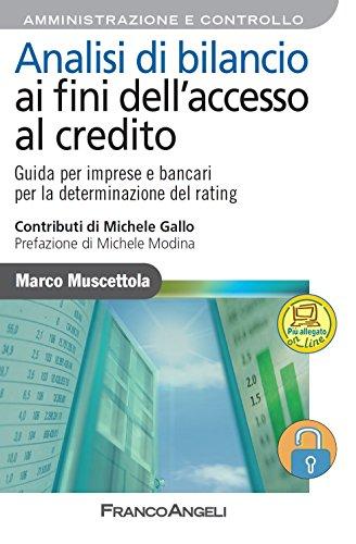Analisi di bilancio ai fini dell'accesso al credito.: Guida per imprese e bancari per la determinazione del rating