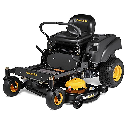 Poulan Pro PPX46Z, 46 in. 22 HP Briggs & Stratton V-Twin Zero Turn Mower with Steelguard