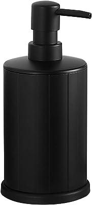 液体石鹸ディスペンサー自立型アルミニウムハンドソープディスペンサー500 MLバスルームとキッチン用防錆