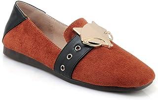 BalaMasa Womens APL11857 Imitated Suede Heels