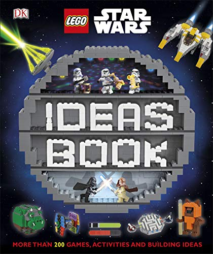 LEGO Star Wars Ideas Book: More than 200 Games, Activities, and Building Ideas (Dk Lego Star Wars) (English Edition)