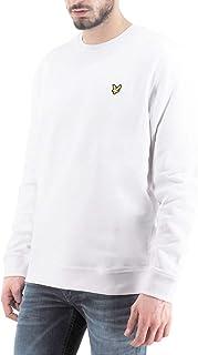 Lyle & Scott, Crew Neck Sweatshirt, White, LYS_ML424VTR 626