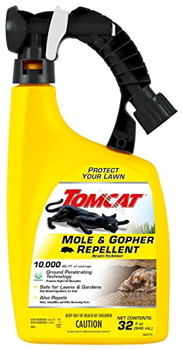Tomcat Ready-to-Spray Mole and Gopher Repellent, 32 oz.