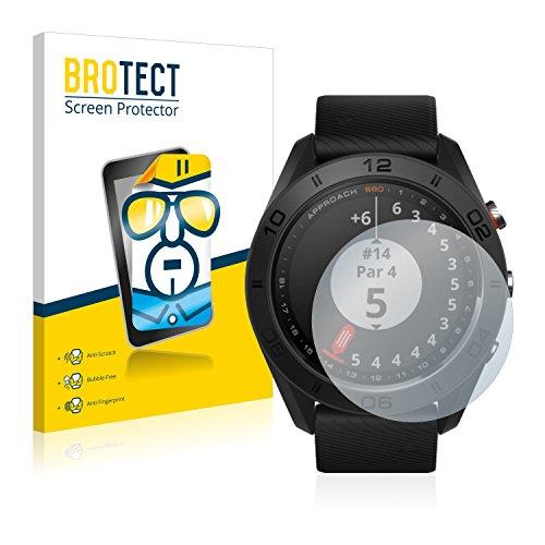 BROTECT Schutzfolie kompatibel mit Garmin Approach S60 (2 Stück) klare Bildschirmschutz-Folie