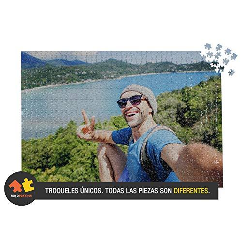 Solopuzzles Puzzle Personalizado con tu Foto Favorita de 1000 Piezas (68 x 48 cm). Máxima Calidad de impresión. 10 TAMAÑOS Disponibles (Desde 48 a 3000 Piezas)