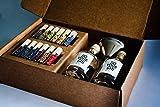 DO YOUR GIN | Kit DIY de fabrication de gin – idée cadeau originale | 12 arômes naturels en flacon de verre | Craft Gin fait maison