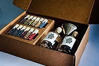✅ FAITES VOTRE PROPRE GIN - avec ce kit exclusif, plus besoin de mélanges préfabriqués, mais juste d'un peu de vodka en guise de base : laissez libre cours à votre imagination et savourez un gin 100 % fait maison après deux jours d'infusion seulement...