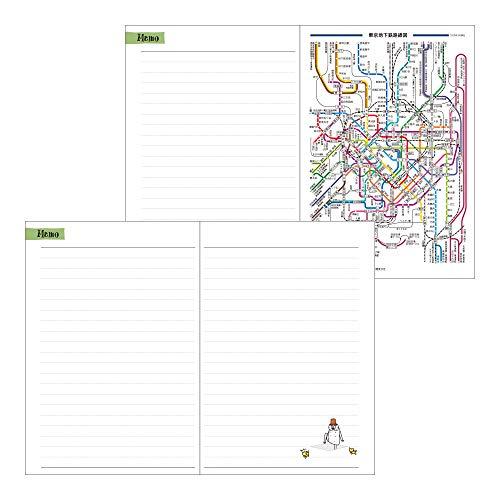 デザインフィルミドリポケットダイアリー手帳2021年B6ウィークリーオジサン柄22030006(2021年1月始まり)