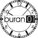 Buran01.com 1 Par Acero INOX. Barra Tensora - 1,78mm Diámetro - Espiga Resorte - Implantes -...