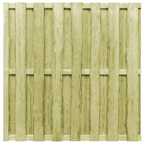 Ghuanton hek van hout geïmpregneerd FSC 180 x 180 cm groen knutselen tuinhek tuindeuren