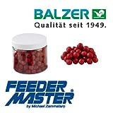 Balzer Method Feeder by Michael Zammataro Micro Boilies 10mm Erdbeer 18526010