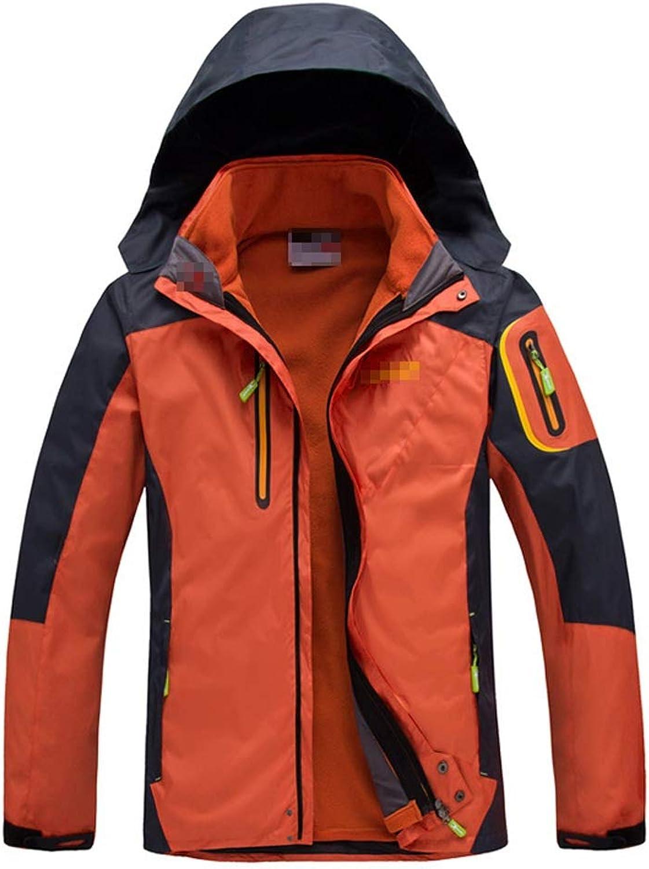 Yzibei Warm Winter Coat Ski Jacket Detachable Snowskirt Coat Ski Jacket For Skiing & Snowboarding Holidays (color   orange, Size   M)