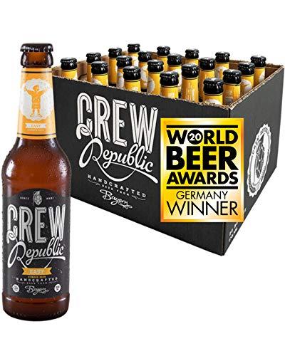 CREW REPUBLIC® Easy - Cerveza artesanal ligera de fermentación superior   Ganadora del
