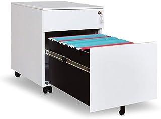 Dossiers en Acier de Table de Cabinet de Cabinet de Bureau en Acier de tiroir de Deux tiroirs d'activité de classeur avec ...