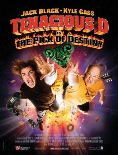Tenacious D in: The Pick of Destiny POSTER Movie (27 x 40 Inches - 69cm x 102cm) (2006) (French Style A) by Decorative Wall Poster